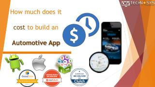 How Much does it Cost to Build an Automotive App