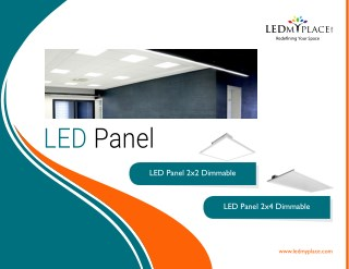 Presenting New Led Panel lights - Ledmyplace