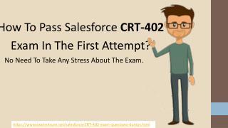 CRT-402 Cheat Sheet