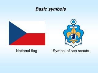 Symbol of sea scouts