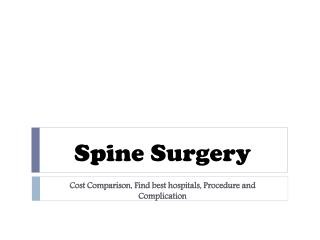 Cost of spine surgery in delhi