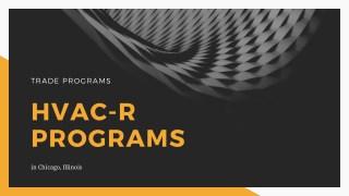 HVAC – R Program in Chicago, IL