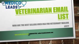 veterinary Mailing List PPT