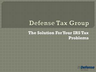 Defense Tax Group