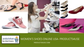 Buy Women's Shoes Online USA- products4use