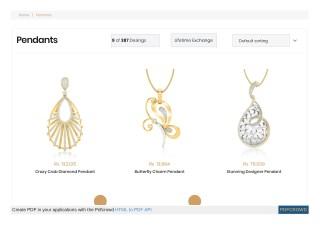 Jewelry pendant designs