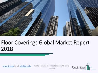 Floor Coverings Global Market Report 2018
