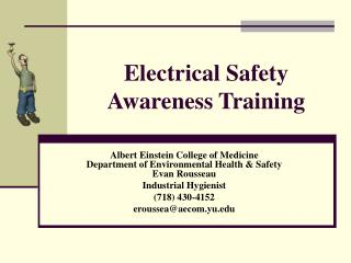 Electrical Safety Awareness Training