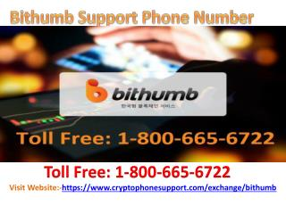 Services Offered By Bithumb Support Phone Number