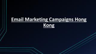 Email Marketing Campaigns Hong Kong