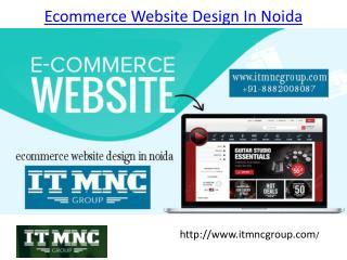 Ecommerce Website Design In Noida