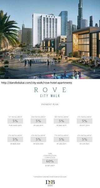 Rove Citywalk by Emaar - Rove Hotel Apartments - D&B Properties Dubai