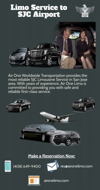 Limo Service to SJC Airport - Air One Limo