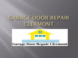 Quick garage door repairs in Florida
