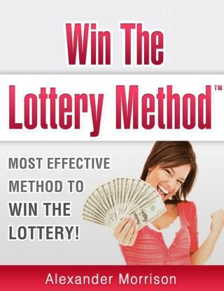 Win The Lottery Method PDF eBook Free Download | Alexander Morrison