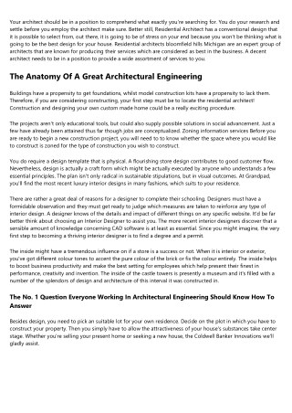 10 Things Your Competitors Can Teach You About Hiring An Architect