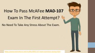 MA0-107 Test Questions