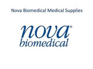 Nova Biomedical Medical Supplies