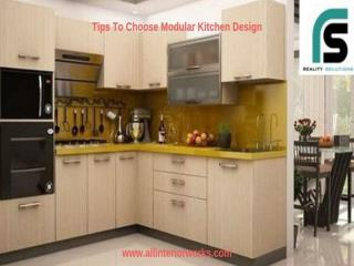 10 Tips To Choose Modular Kitchen Design For You