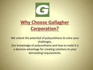 Why Gallagher? Expertise, Partnership, and Delivery On Our Promise