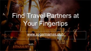 Find Travel Partners at Your Fingertips
