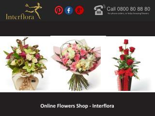 Online Flowers Shop – Interflora