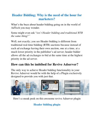 Header Bidding; Why is the need of the hour for marketers?