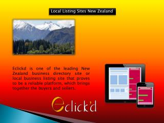 Local Listing Sites New Zealand