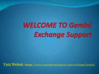 Instructions to Register and Deposit on Gemini.