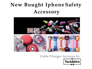 Cute Iphone Charger Cable Safety Accessory