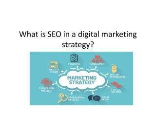 What is SEO in a digital marketing strategy?