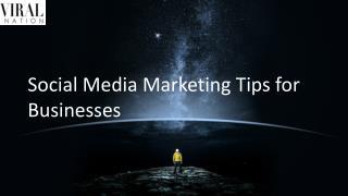Social Media Marketing Tips for Businesses