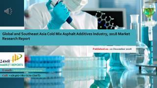 Asia Cold Mix Asphalt Additives Industry