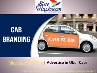 Uber Cab Branding in India   Advertise in Uber Cab   Car Branding
