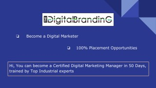 SEO | Digital Marketing Training Course in Coimbatore with Placement