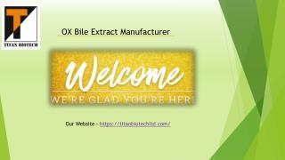 OX Bile Extract