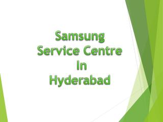 Samsung Service Centre in Hyderabad