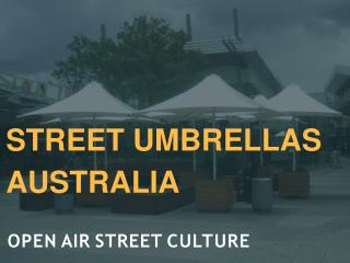Pick Commercial Umbrellas for Business Requirements
