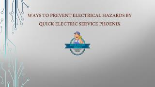 Control Measures for Electrical Hazards