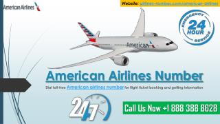 American Airlines Number- Get Information about American Airlines