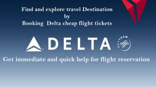 Lowest Fare Deals On Delta Airlines Reservation Phone Number