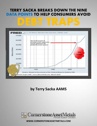 Financial Analyst Terry Sacka Breaks Down The Nine Data Points That Help Consumers Avoid Debt Traps