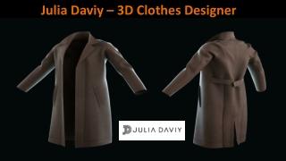 Julia Daviy - 3D Clothes Designer