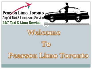 Mississauga Airport Limo Service