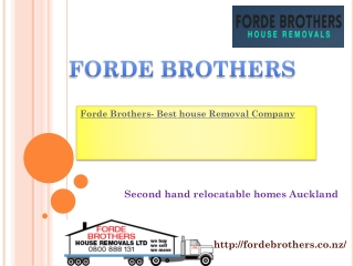 Forde Brothers
