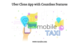 Uber Clone App with Countless Features