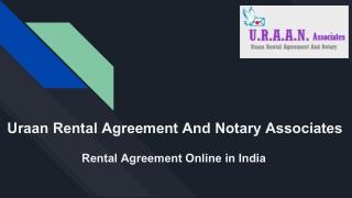 Online Rental Agreement Services