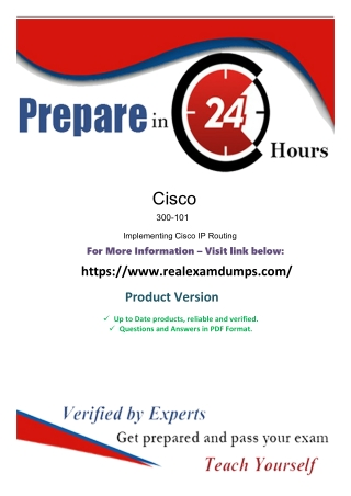 Download Exact Cisco 300-101 Exam Study Guide - Cisco 300-101 Exam Dumps