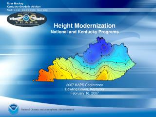 Height Modernization National and Kentucky Programs