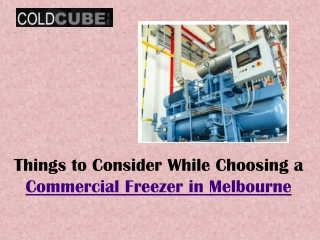 Tips for Controlling the Temperature of Commercial Cool Rooms in Melbourne